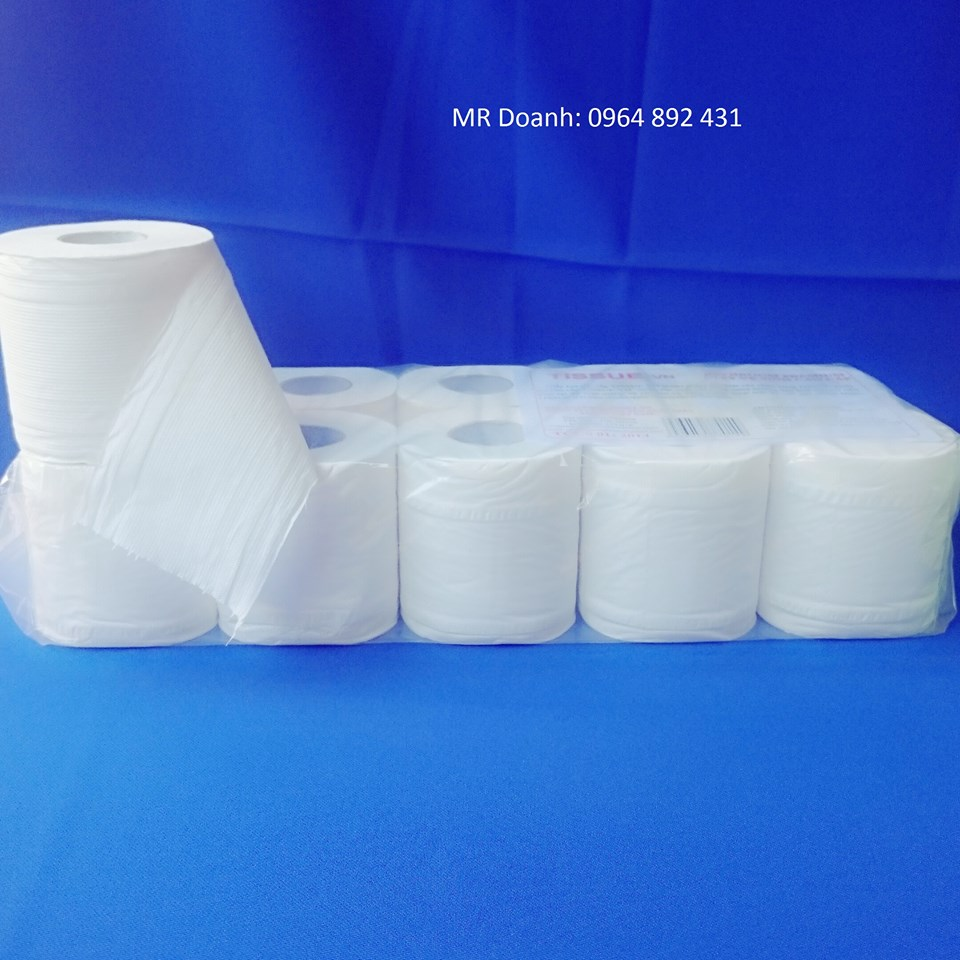 Giây Vệ Sinh Tissue 10 cuộn 3 lớp
